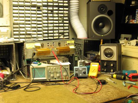 Amplifier Maintenance and Repair
